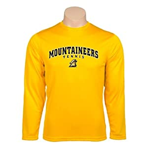 Appalachian State Syntrel Performance Gold Longsleeve Shirt, XXX-Large, Mountaineers Tennis