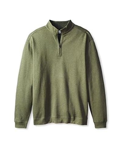 Cutter & Buck Men's Forest Park Half Zip Shirt