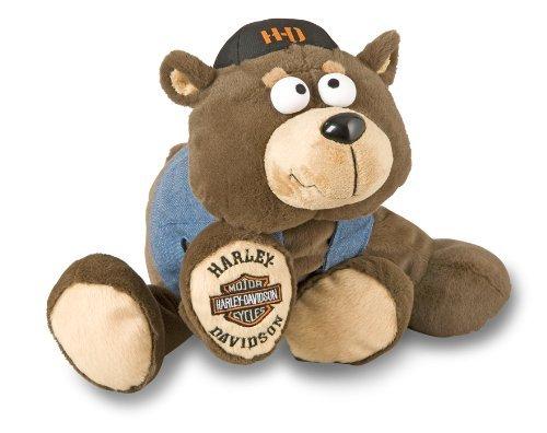 Harley-Davidson Stuffed Cruisin' Critters Bear