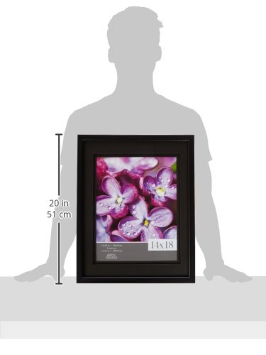 Gallery Solutions Wall Frame With Airfloat Mat 14 By 18