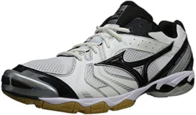 Mizuno Men's Wave Bolt 2 Volleyball Shoe,White/Black,12 M US