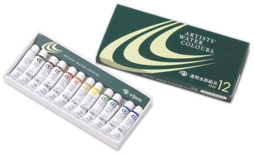クサカベ 専門家用水彩絵具セット NW-12