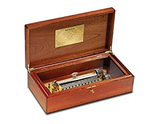 Reuge Box in Carbalho 4.144 Cartel Movement, Reuge Musical Masterpiece
