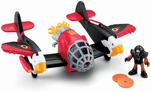 Fisher-Price Imaginext Sky Racers Twin Eagle