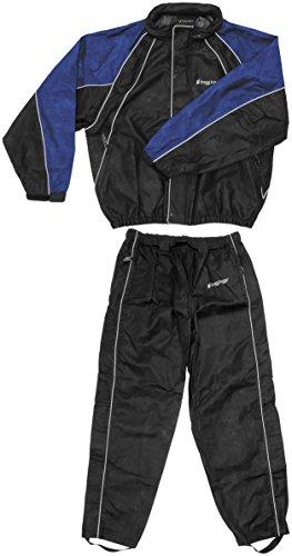 Frogg Toggs Hogg Togg Rainsuit, Size: XL, Distinct Name: Black/Blue, Gender: Mens/Unisex, Primary Color: Black FT10322-112-XL