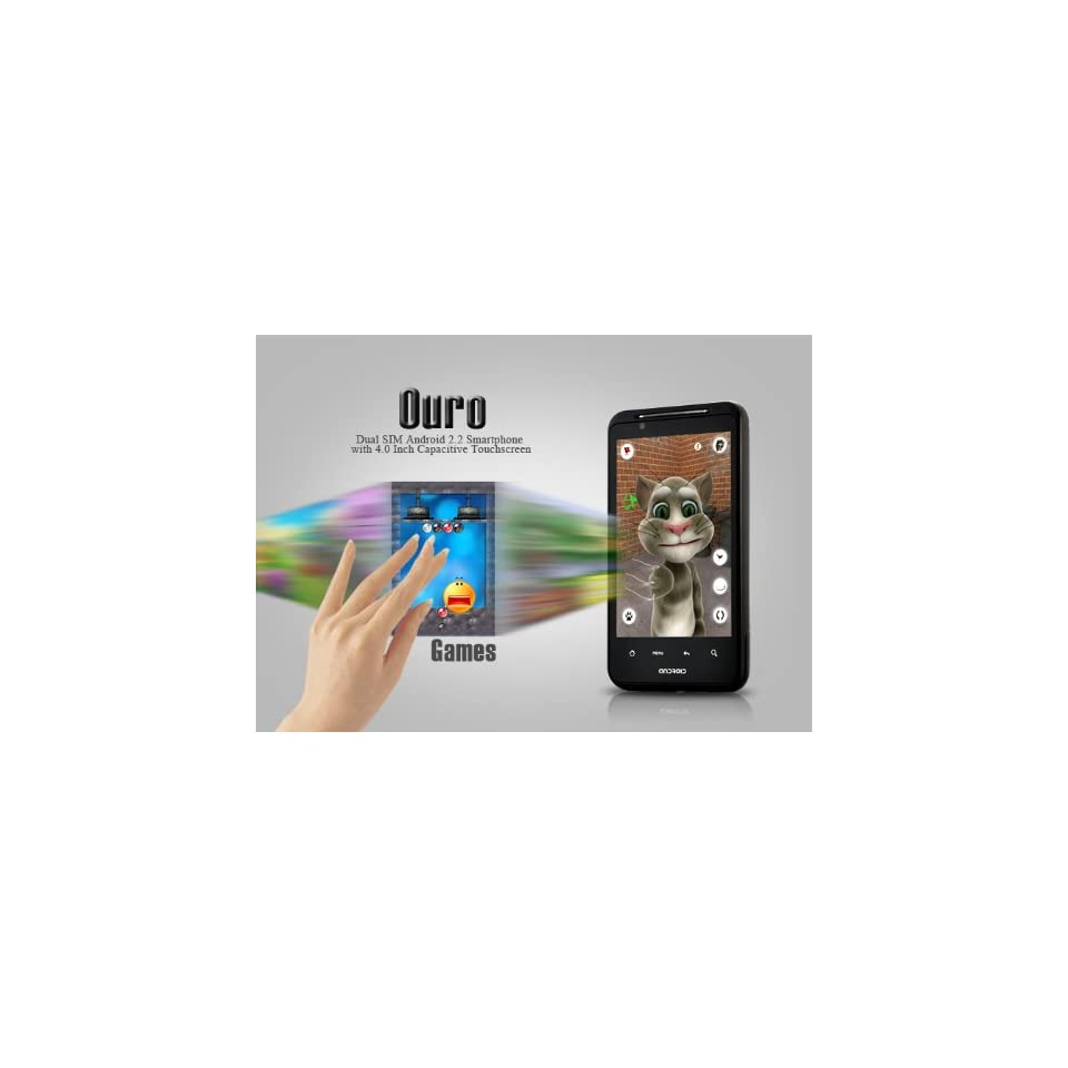 Android Mobile Phone Cell Dual Sim Unlocked GSM Wifi  Mp4 A gps T moible