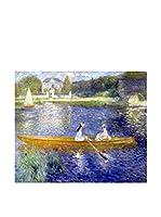 ARTE E TESSUTI by MANIFATTURE COTONIERE Panel Decorativo Renoir-La Yole (Azul/Multicolor)