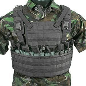 BlackHawk Enhanced Commando Recon Harness, Black, 37CL78BK
