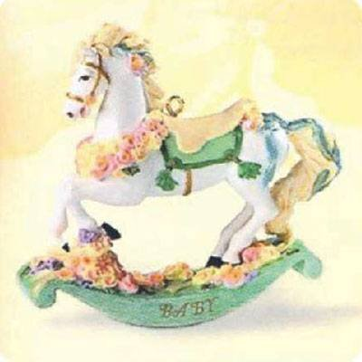 Precious Baby 1999 Hallmark Ornament QEO8417