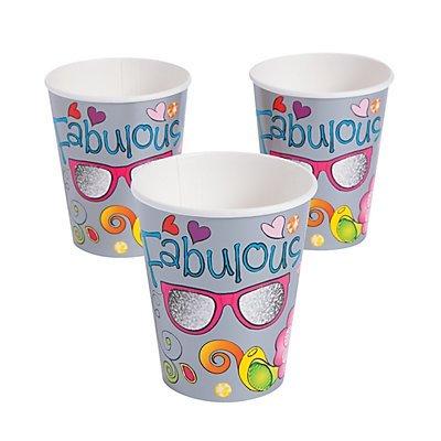 Glitzy Chicks Cups