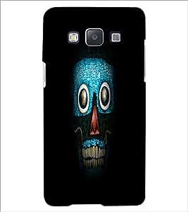 PrintDhaba Art Skull D-1265 Back Case Cover for SAMSUNG GALAXY E5 (Multi-Coloured)