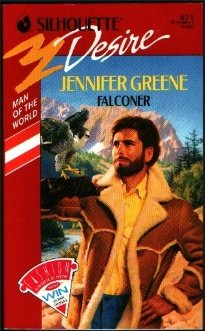 Falconer (Man of the World, Book 4) (Silhouette Desire, No 671), Jennifer Greene