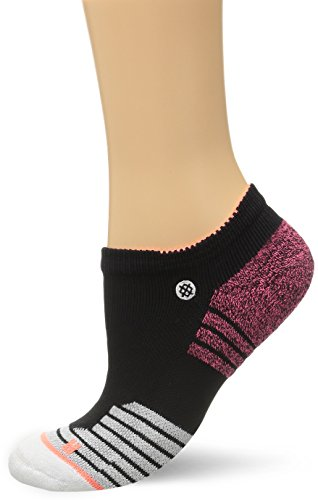 Stance Women's Fitness Low Fusion Athletic Low Cut Sock, Black, Small