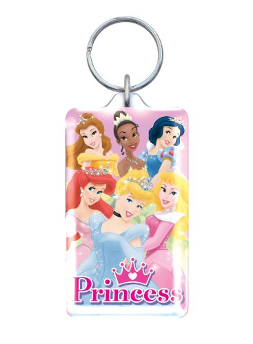 Disney Princess Lucite Key Ring