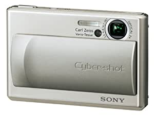 Sony Cybershot DSC-T1 5MP Digital Camera with 3x Optical Zoom