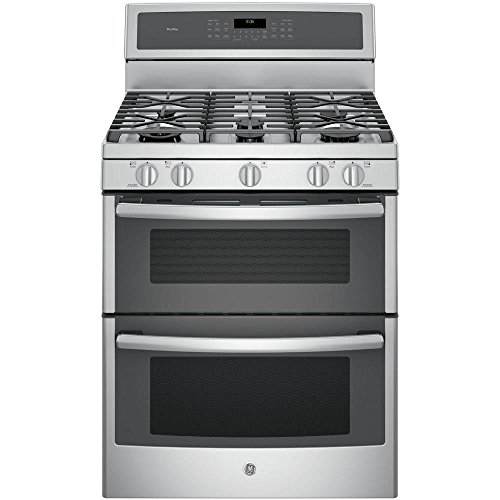 GE-PGB980ZEJSS-30-Stainless-Steel-Gas-Sealed-Burner-Double-Oven-Range