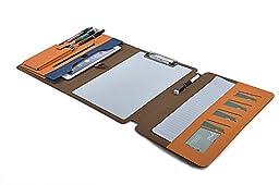 Amazing Fantasy Design Portable Erasable Writing Board Portfolio,Folio Case with Dry Erase White Board,Organizer Pockets