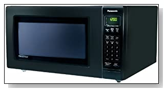 Panasonic NN-H765BF Genius 1.6 cuft 1250-Watt Sensor Microwave with Inverter Technology