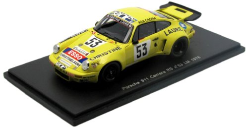SPARK 1:43 Porsche 911 Carrera RS No53 LM 1976...