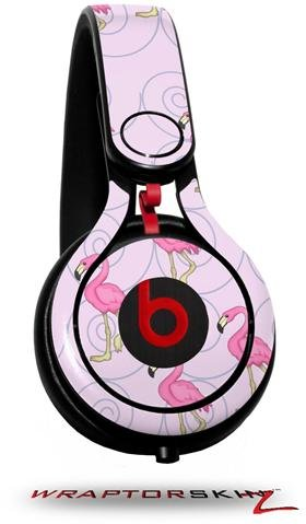 Flamingos On Pink Decal Style Skin (Fits Genuine Beats Mixr Headphones - Headphones Not Included)