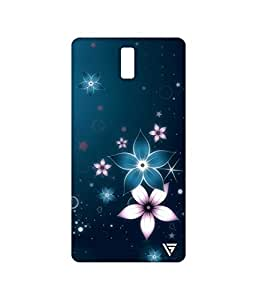 Vogueshell Flowers Printed Symmetry PRO Series Hard Back Case for Oneplus One