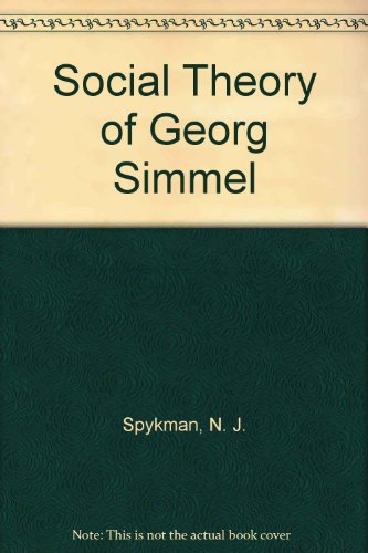 Social Theory of Georg Simmel