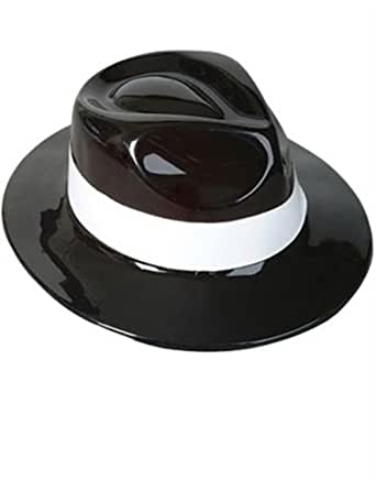 Costume Party Gangster Fedora Hat: Costume Headwear And Hats: Clothing