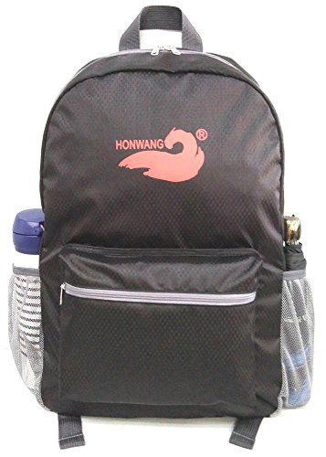 casual-folded-outdoor-hiking-sport-backpack-black