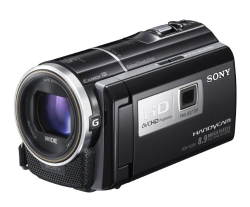 Sony Handycam PJ260 Full HD Camcorder with Built in Projector - Black (16GB, 8.9MP, 30x Optical Zoom) 3 inch LCD