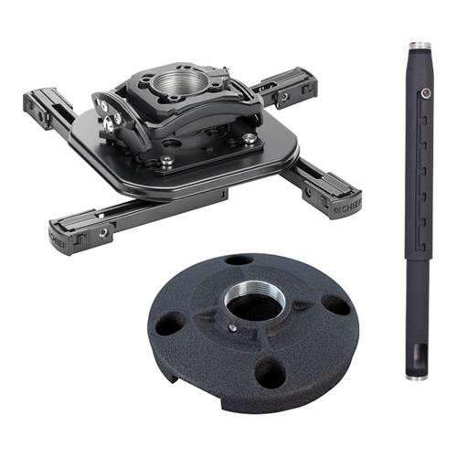 Chief KITMD0203 Projector Mount Kit Includes RSMAU Mini RPA Elite Projector Mount CMS115 Ceiling Plate CMS0203 2-3 Adjustable Extension Column