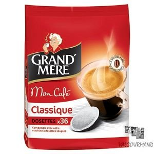 Choose Grandmere Senseo Classic Coffee Capsules (Pack of 2, 72 Pods) from Mondelez