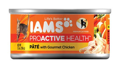 Iams Proactive Health With Chicken Adult Canned Cat Food