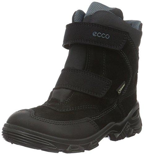 Ecco Snowboarde, Stivali da Neve Bambino, Nero (Black/Black/PAVEMENT58918), 33 EU