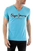 Pepe Jeans Tee Shirt Original stretch v broadway blue
