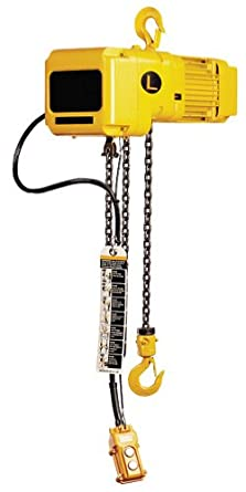 Bear Claw Electric Chain Hoist; Capacity (LBS): 4,000; Standard Lift (FT): 10'; Feet Per Minute: 14; Phase Type: 3 Phase; Model# BECH-40-3PH