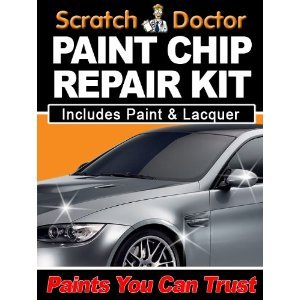SKODA Paint Repair with DYNAMIC BLUE 4590 touch up paint. by The Scratch Doctor