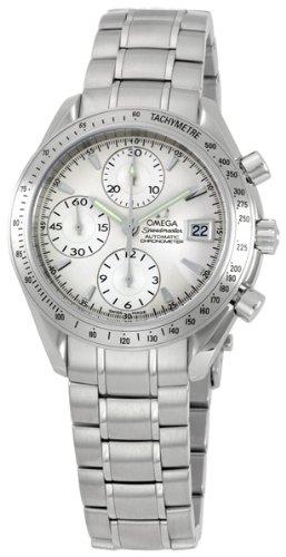 Omega Men's 3211.30.00 Speedmaster Date Automatic Chronometer Chronograph Watch (Omega Automatic Speedmaster compare prices)