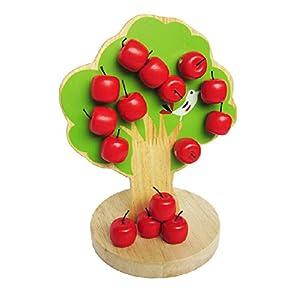 amazoncom greencherry baby cute magnetic apple tree