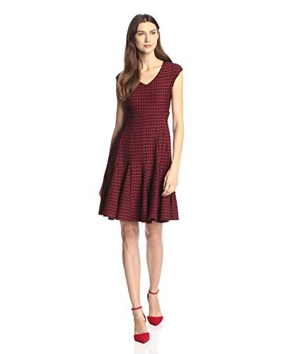 Taylor Women's Jacquard Knit Dress