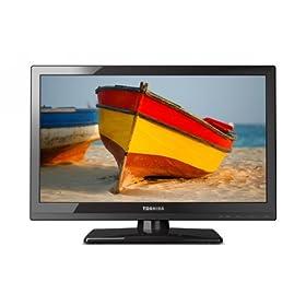 Toshiba 19SL410U 19-Inch 720p 60 Hz LED-LCD HDTV, Black