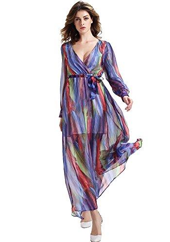 Misseurous -  Vestito  - Donna Color printing Medium