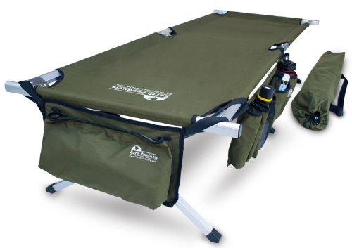 Earth Jamboree Military Style Aluminum Cot