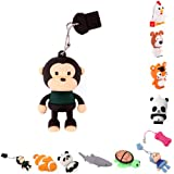HDE Novelty Animal Shaped USB Flash Drive (8GB, Black Monkey)