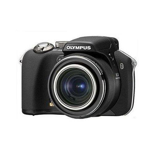 Olympus SP-560 Ultra Zoom Digital Camera - Black (8MP, 18x Optical Zoom) 2.5