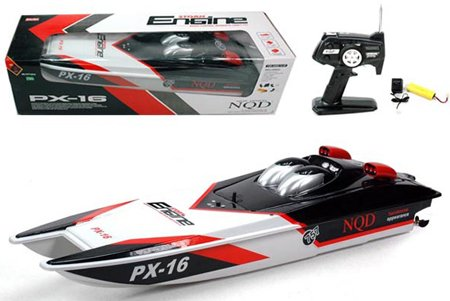 Storm Engine Electric RTR 32 in. RC Remote Control Racing Boat (Color May Vary)
