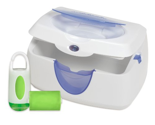 Munchkin Warm Glow Wipe Warmer and Diaper Bag Dispenser Set