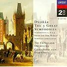 Dvorak : les 3 grandes symphonies, n� 7, 8 et 9