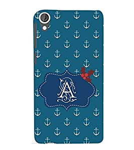 EPICCASE anchor of A Mobile Back Case Cover For HTC Desire 820 (Designer Case)