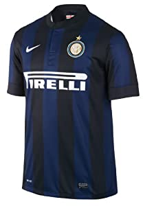 Nike Inter Milan BOYS SHORT SLEEVE HOME REPLICA JERSEY (MIDNIGHT NAV) (L)