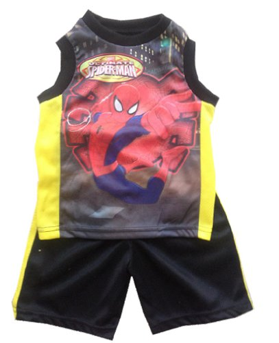 SPIDERMAN - The Ultimate Spider-Man - 2 Piece Toddler Set - TankTop and Shorts